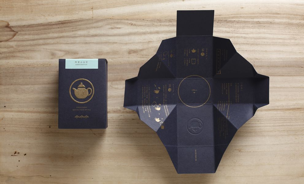 PROT TEA ≈ 京盛宇 Packaging . Tea . Design .