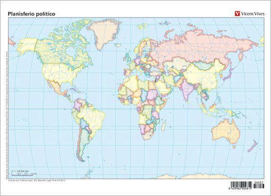 Mapa Politico De España Mudo Vicens Vives.Editorial Vicens Vives En 2019 Materiales Didacticos