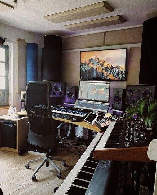 Innovative Inspirations For Home Music Studio Recording Studio