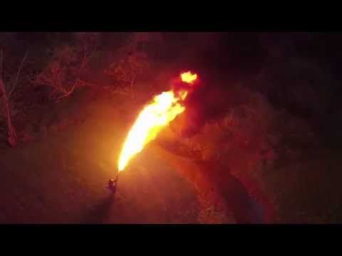 Well, this is a flamethrower. A real, honest, flame throwing flamethrower. It doesn't get more badass, it doesn't get cooler. Just buy it already. #flamethrower #whyimloved #badass