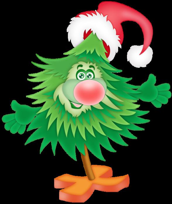 Поздравлением, новогодние елки прикольные картинки