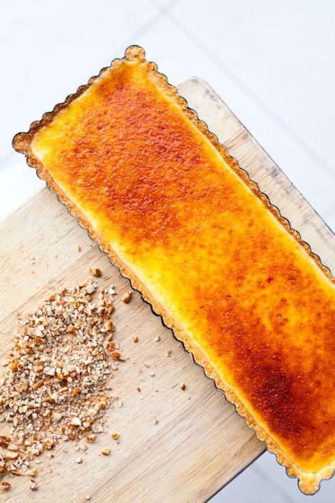 Cette recette ressemble trangement la recette de tarte au citron de menton une merveille - Recette tarte au citron sans meringue ...