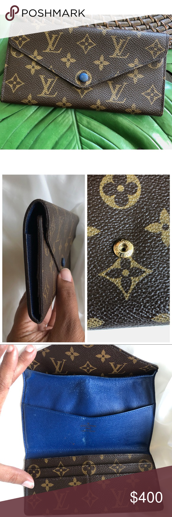Vintage Louis Vuitton Envelope Wallet Vintage Louis Vuitton Louis Vuitton Envelope Wallet