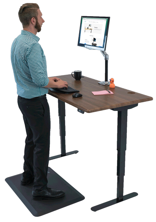 The Standing Desk Worthy Work For Great Scribes Shop Standing Desks Sit Stand Stand Up And Adjust Adjustable Standing Desk Standing Desk Best Standing Desk