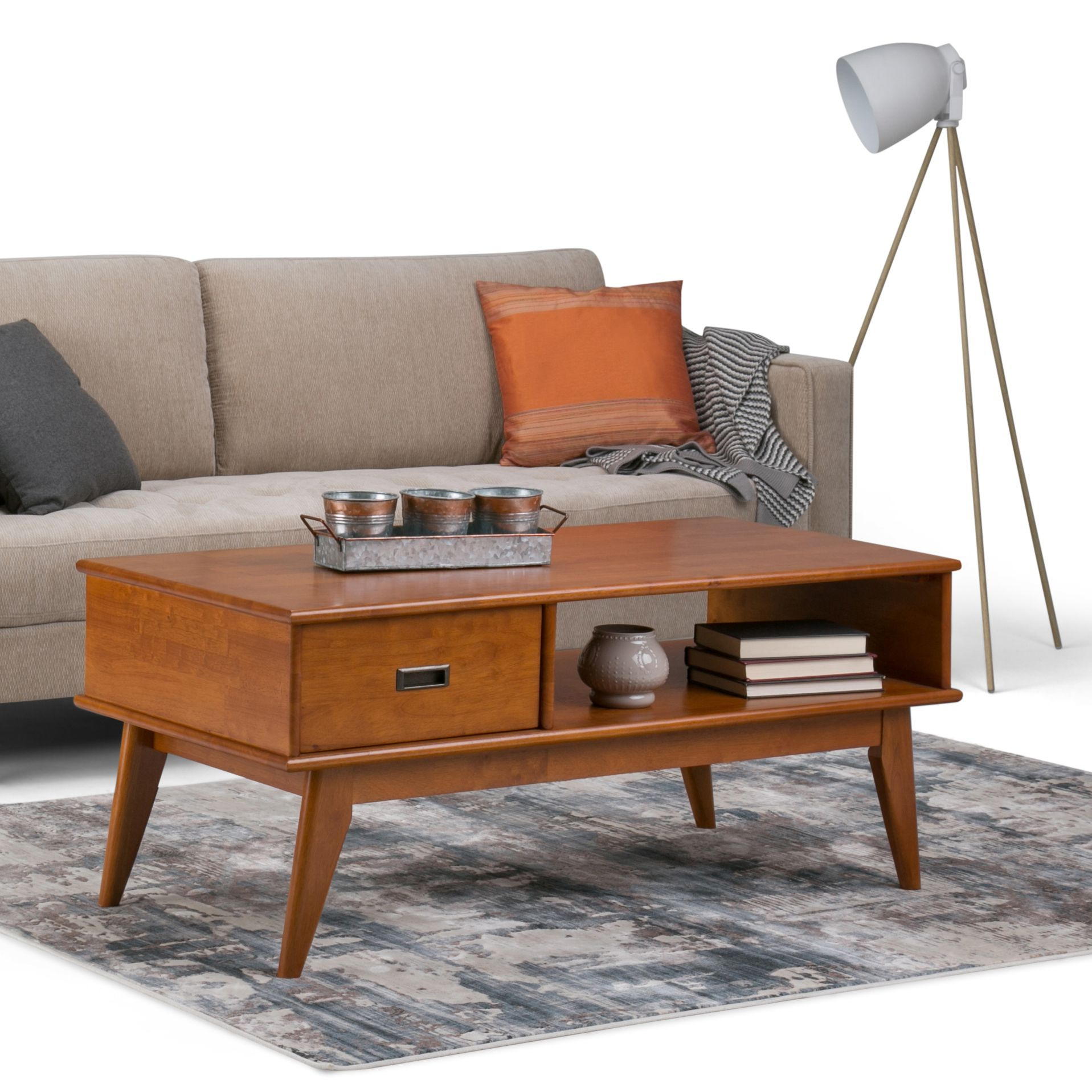 Coffee Time With The Draper Coffee Table Coffee Table Mid Century Coffee Table Mid Century Modern Coffee Table [ 1917 x 1917 Pixel ]
