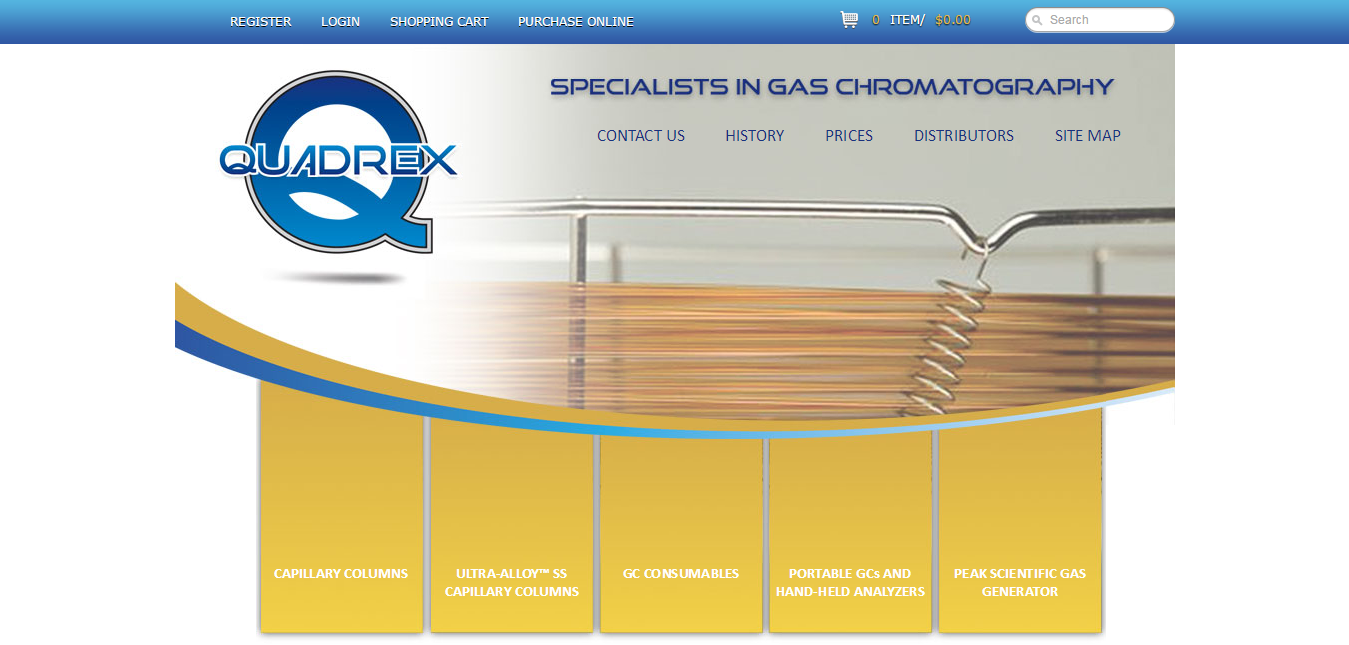 Every Quadrex Fused Silica Capillary Column Is Pre Conditioned Qc Tested And Shipped With A Clear And Gas Chromatography Gas Generator Science And Technology