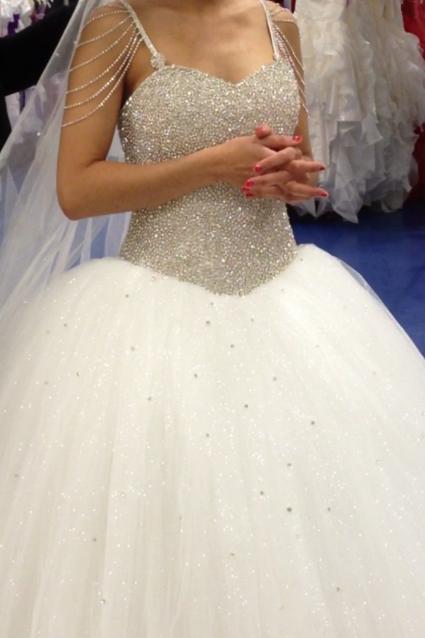Robe de mariée Strass et Paillettes d'occasion
