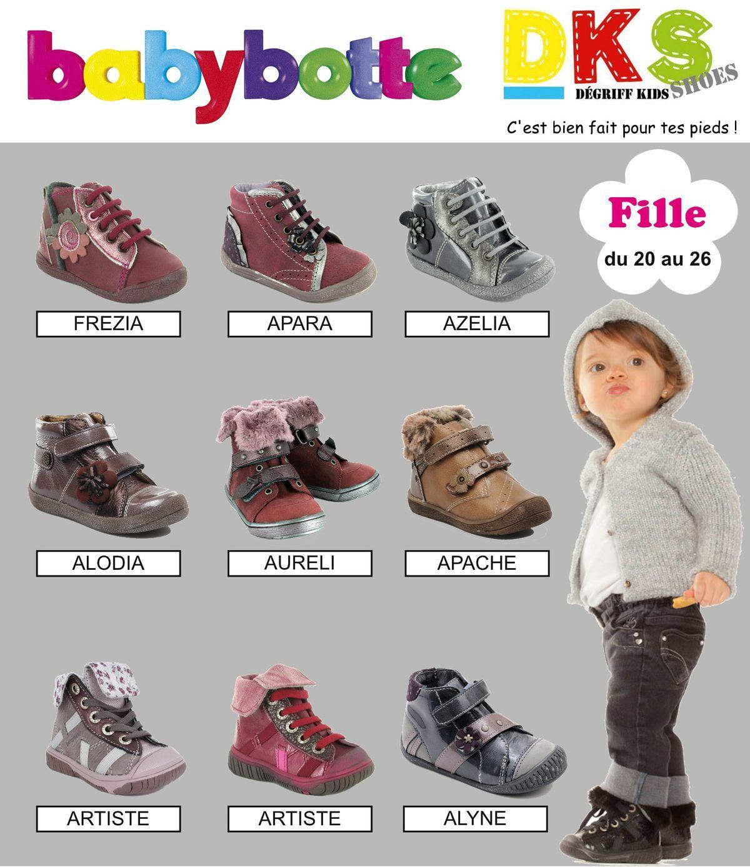 Babybotte 20 Chaussures À 26 Arrivage FilleDu Au Prix dCxrthBsQo