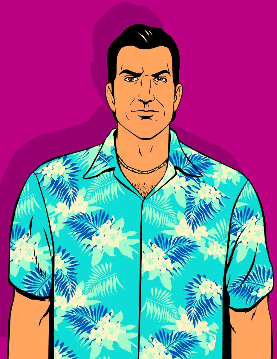 The Artwork For Gta Vice City Was Really Great Grand Theft Auto Artwork Gta Grand Theft Auto