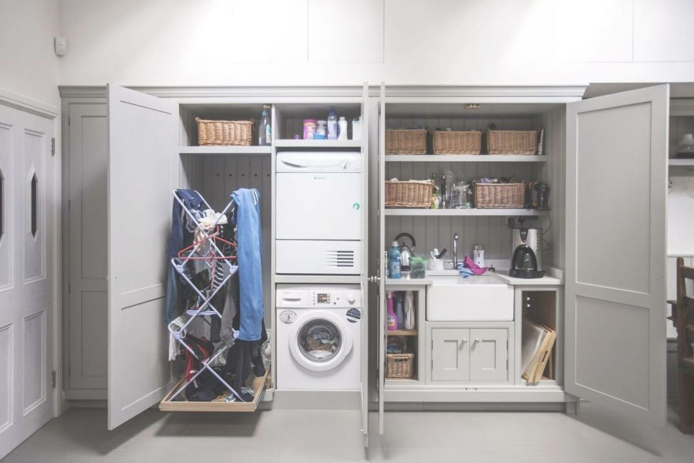 Utility Room Ideas 13 Ways To Make The Most Of Your Space Real Homes Utility Room Designs Utility Room Storage Utility Rooms