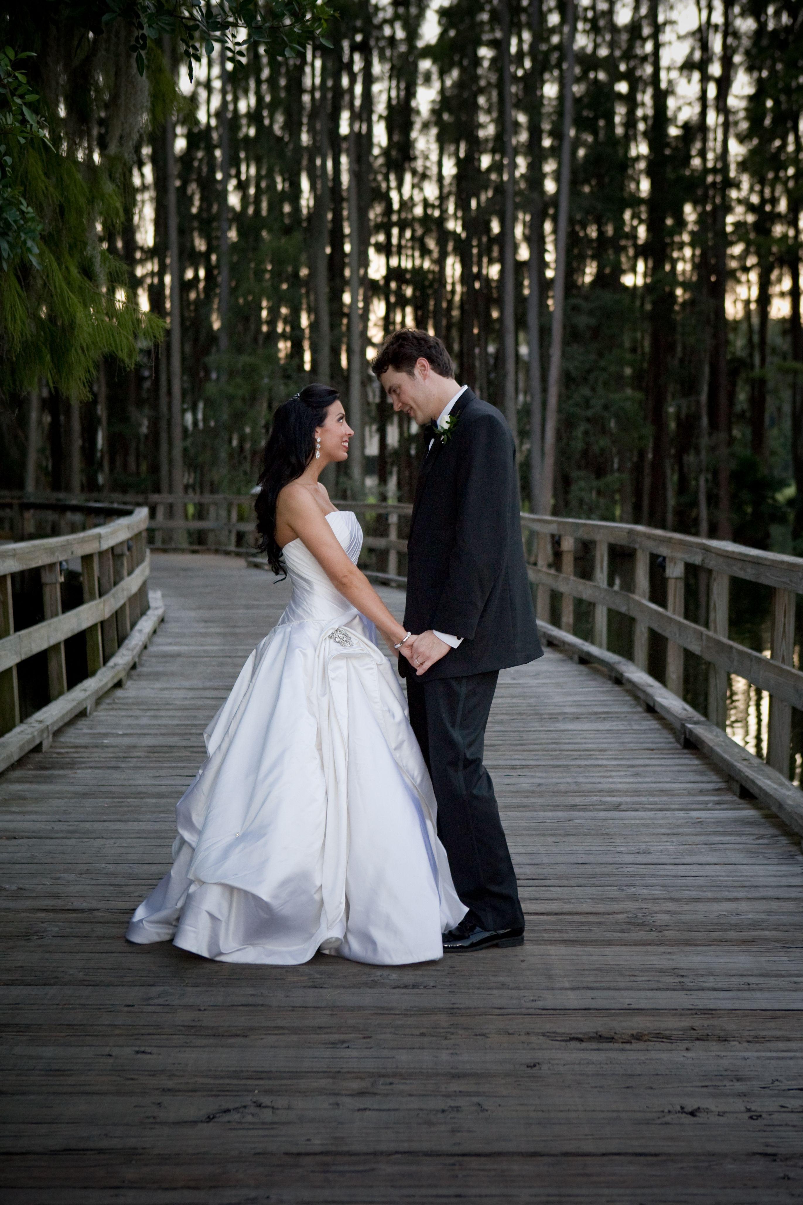 The woods, wildlife and lush greenery of Saddlebrook Resort exudes natural elegance for your wedding