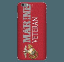 Marine Corps Veteran cell phone case
