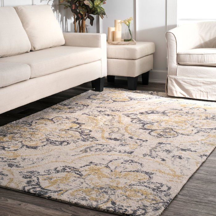 Zanesville Off White Area Rug Area Rugs Yellow Area Rugs