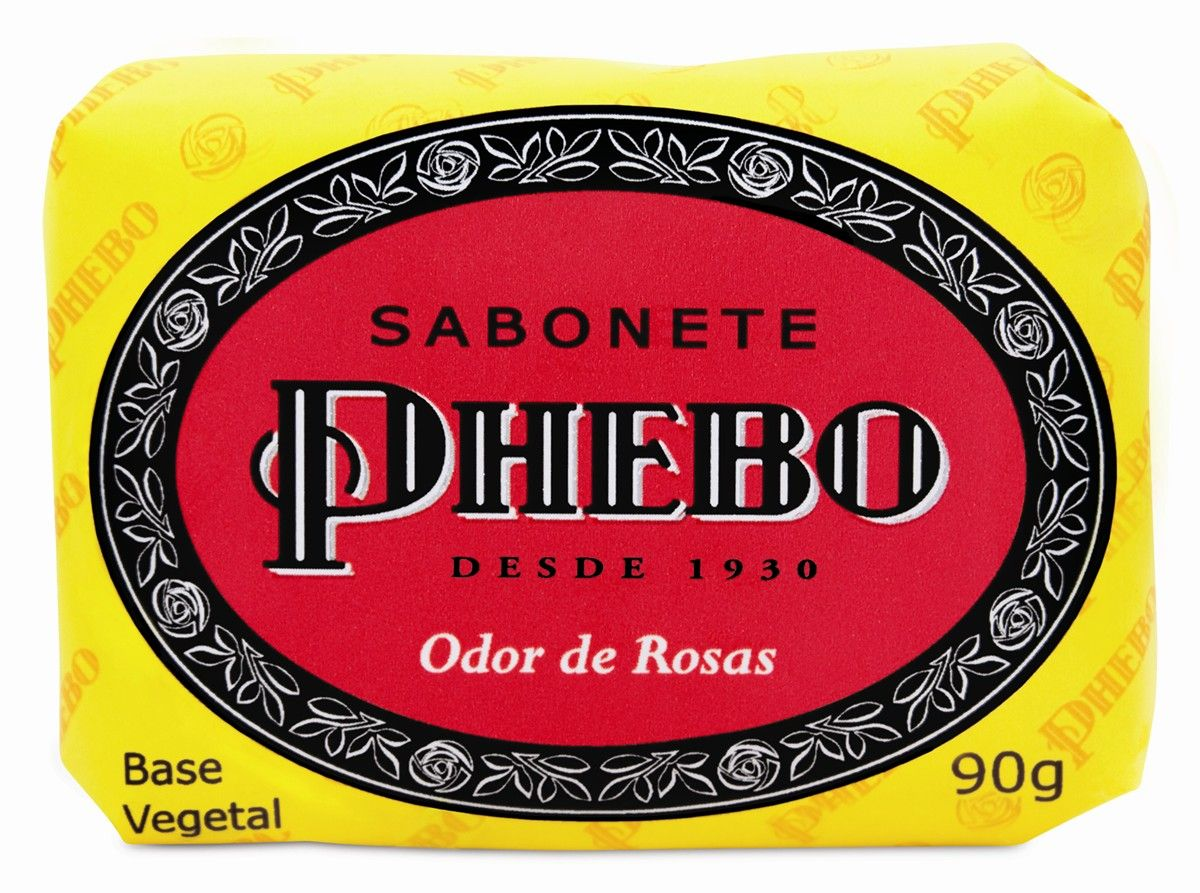 Sabonete glicerinado Phebo pós-reformulação