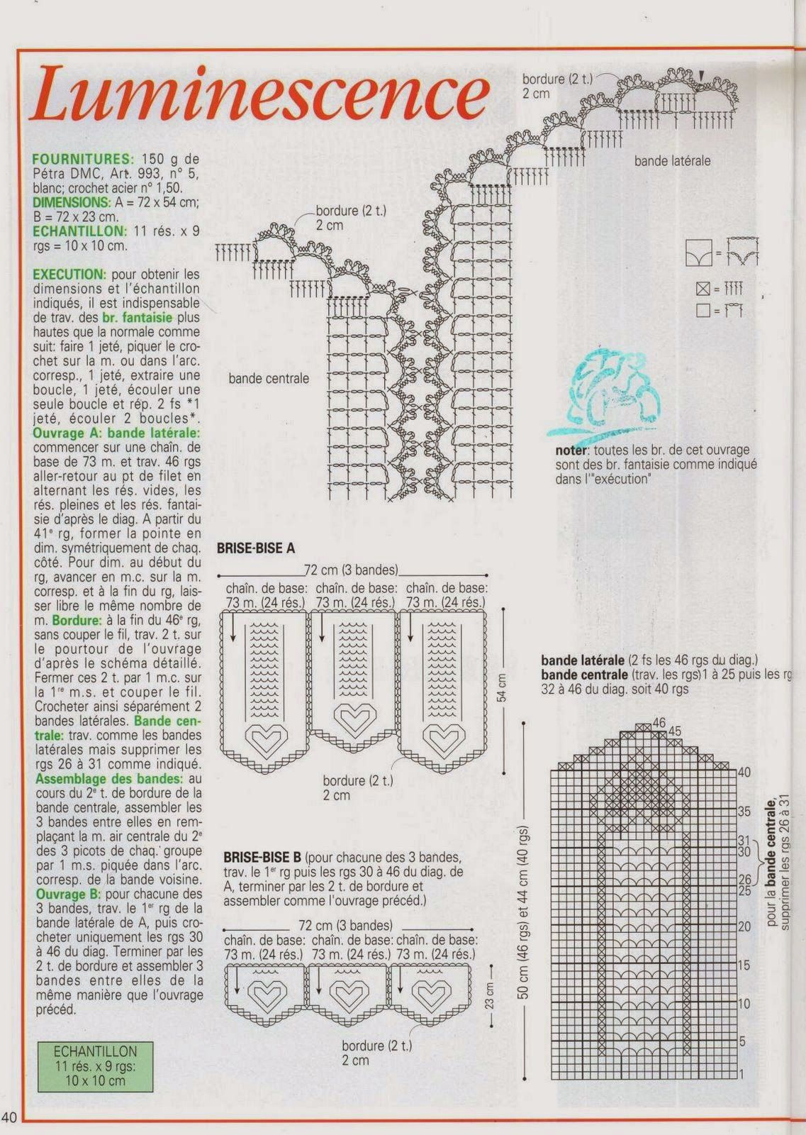 Revista Crochet d\'art completa | crochet | Pinterest | Cortinas ...
