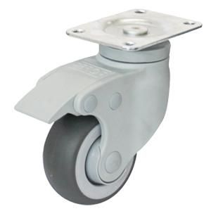Medical Grade Casters Wheel Material Tpr Pa Size O75 X 32mm O100