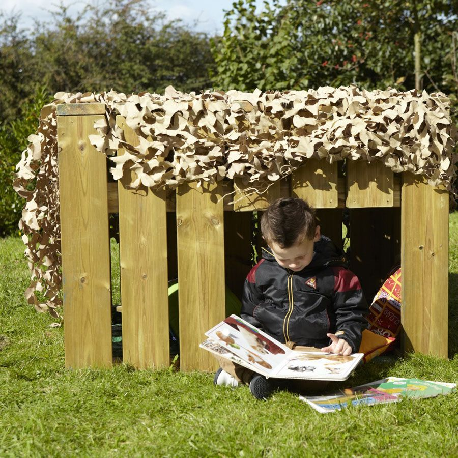 Cosy Cottages | Kids outdoor spaces, Outdoor classroom ...