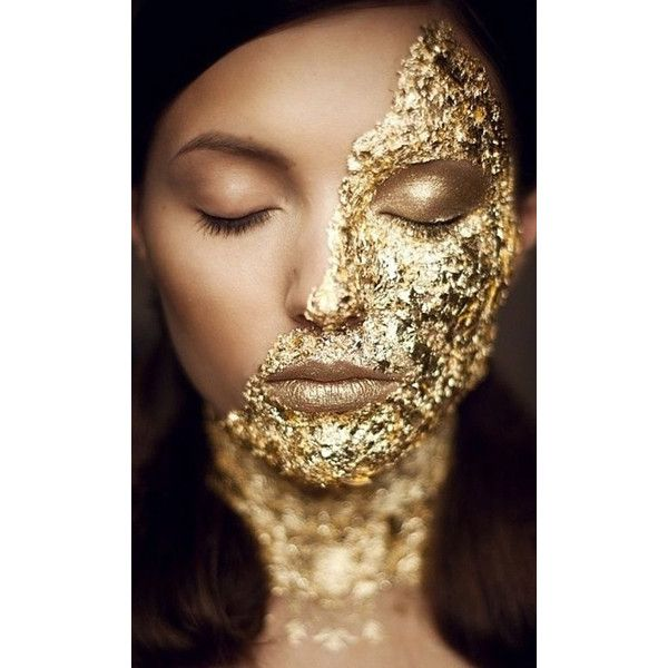 GOLD MAKEUP AND WEDDINGS (Little Plastic Horses) ❤ liked on Polyvore featuring beauty products