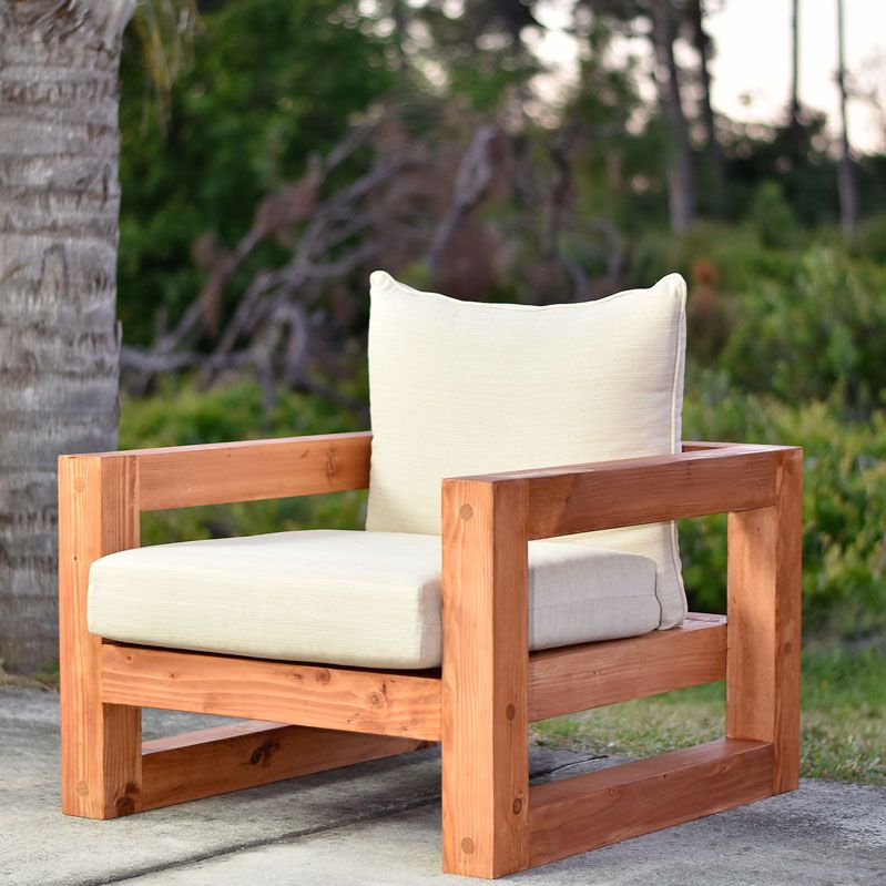 Project Plans Diy Creators Modern Outdoor Chairs Outdoor Chairs Diy Patio Furniture