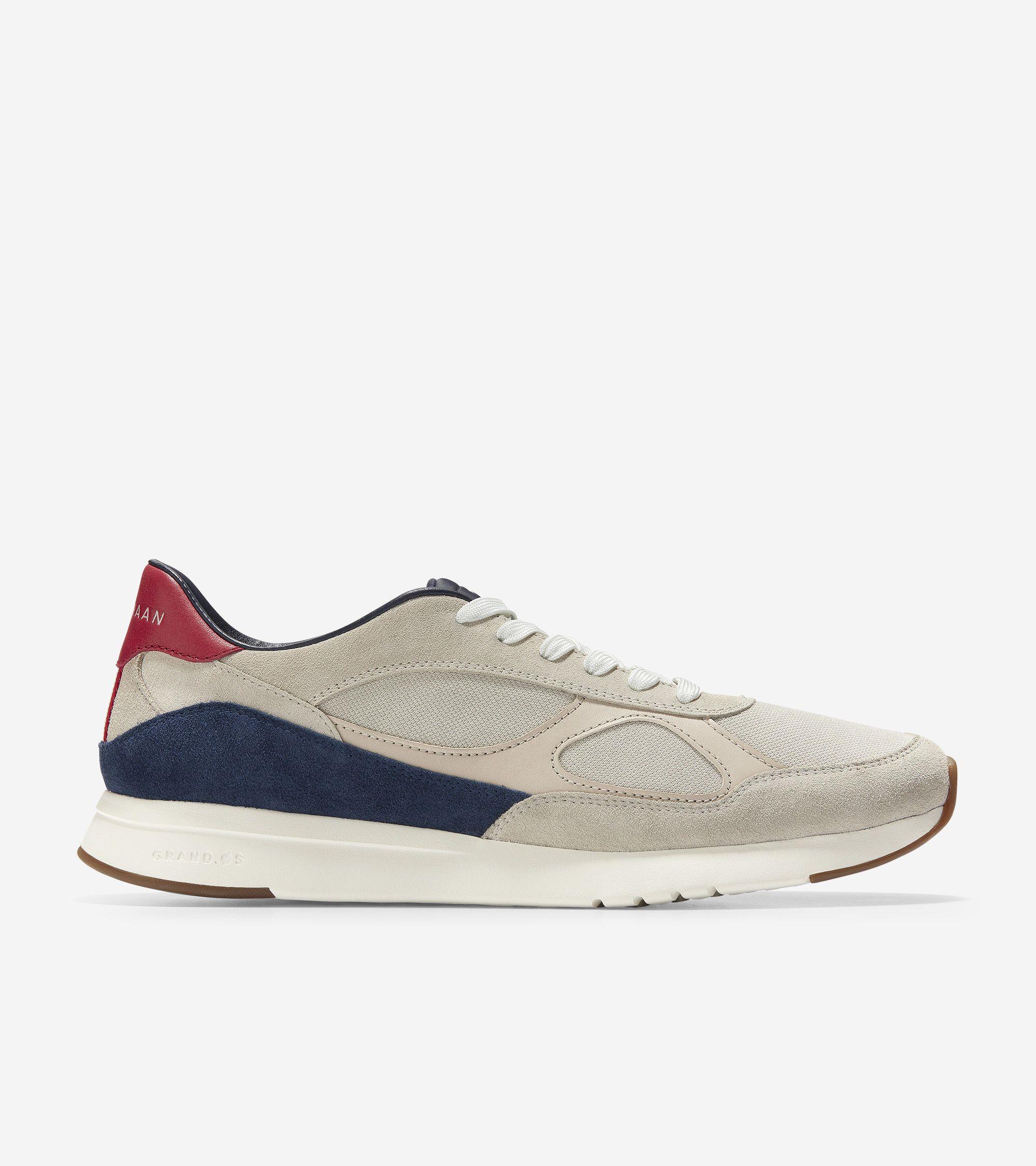 Cole Haan Men's GrandPrø Classic Running Sneaker (Pumice