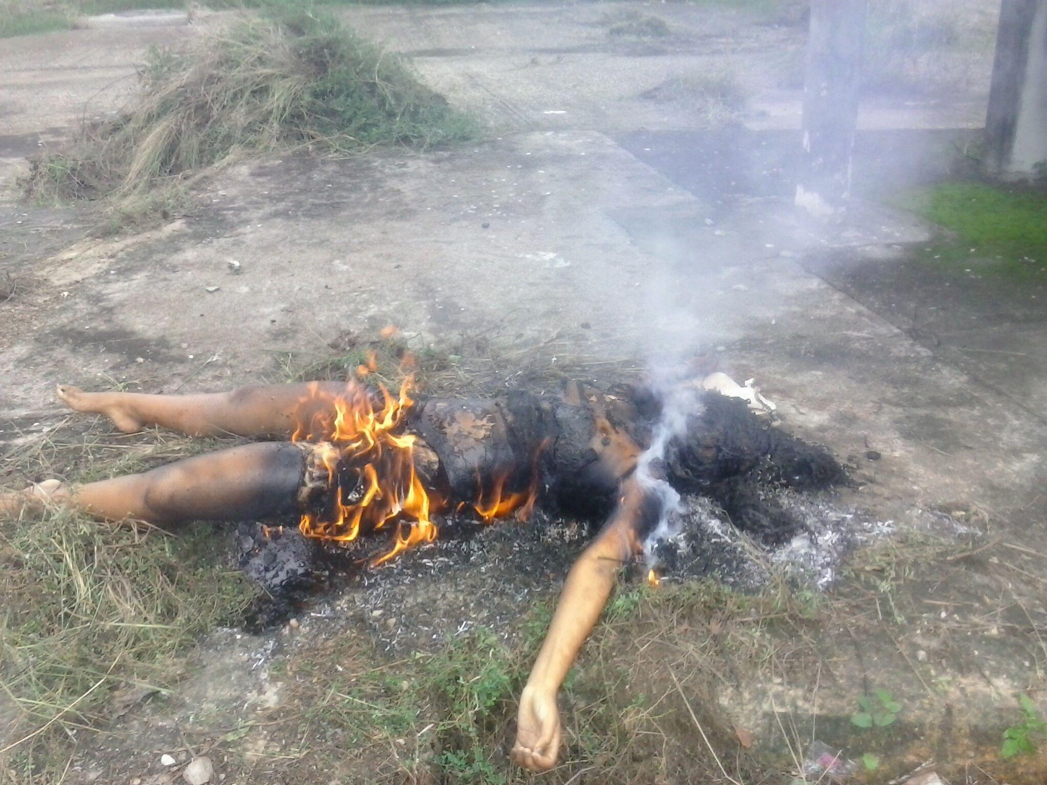 что будет если сжечь фото живого человека