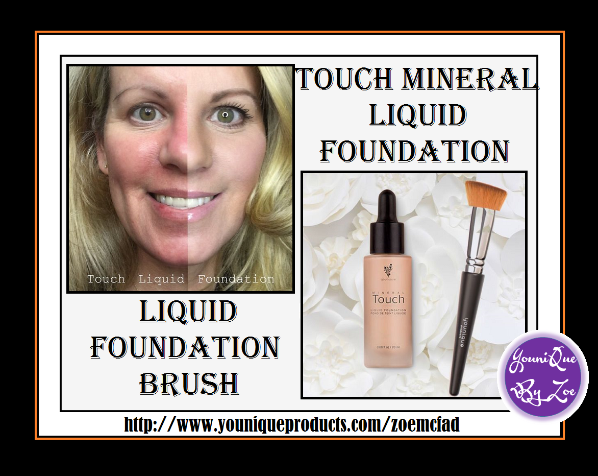 touch mineral liquid foundation now comes in 13 shades