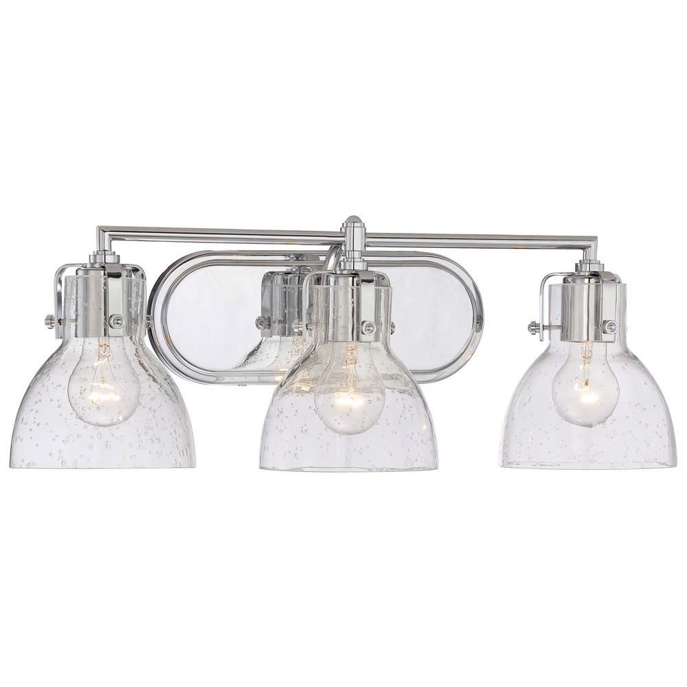 Minka Lavery Light Chrome Bath Vanity Light Bath Vanities Minka - Minka lavery bathroom fixtures