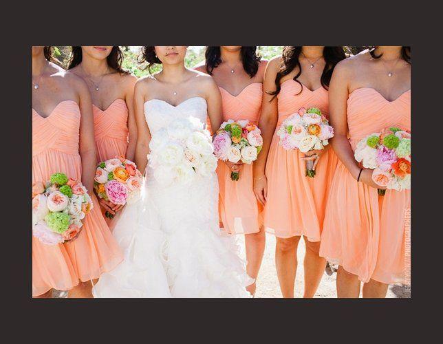 Robes de demoiselle d 39 honneur de p che sur pinterest for Robes de demoiselle d honneur pour mariage en plein air