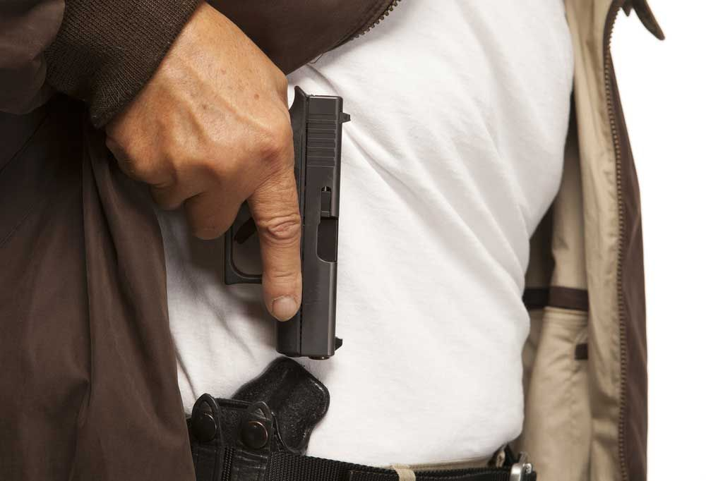Going armed not only means being competent with a firearm