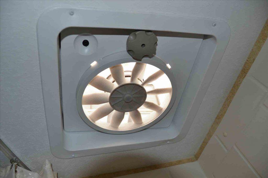 Install a roof vent fan. Rv upgrades, Rv mods, Rv interior