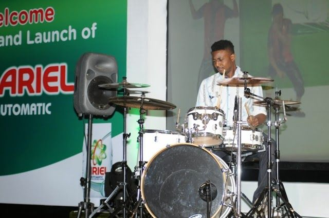 TALK OF THE TOWN By Orikinla: Ariel Automatic Washing Machine Detergent Launched With Entertainment Extravaganza in Lagos