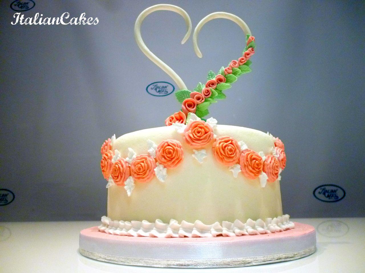 Torta di compleanno in pasta di zucchero by ItalianCakes