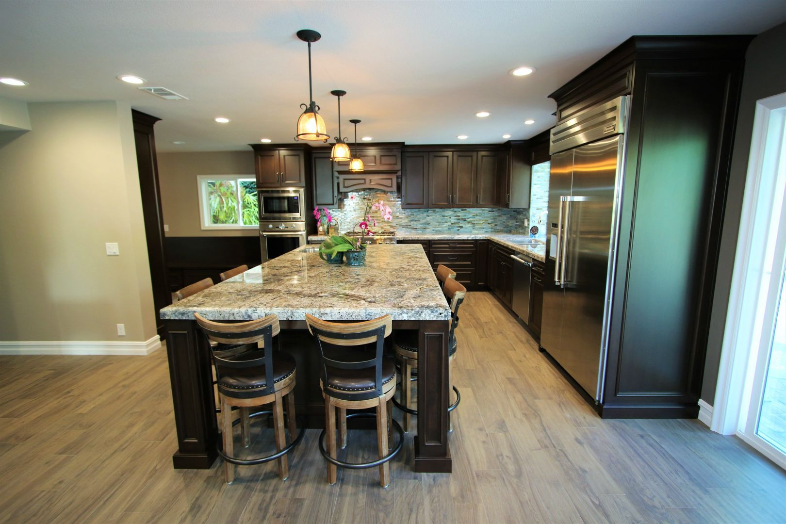 Design Build Traditional Kitchen Remodel In Laguna Hills With Aplus Home Remodeling Traditional Kitchen Remodel Traditional Kitchen Kitchen Remodel