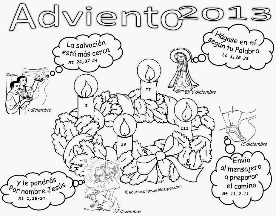 Mejores 13 imágenes de ADVIENTO en Pinterest | Adviento, Catecismo y ...