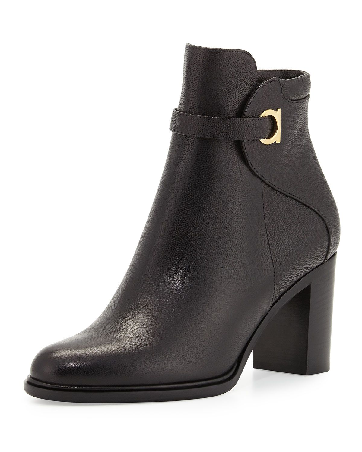 discount best prices hot sale for sale Salvatore Ferragamo Florian Leather Boots cheap sale ebay outlet store cheap online QloU0B8
