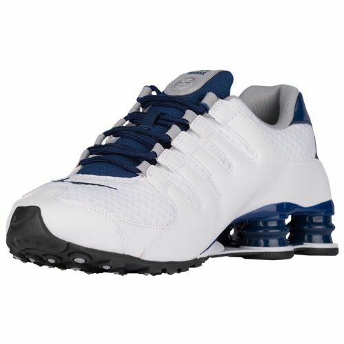 4ab02820b99  139.99 Selected Style  White Coastal Blue Wolf Grey Coastal Blue Width  B  - Medium Product    33579104. Find this Pin and more on Nike Shox NZ ...