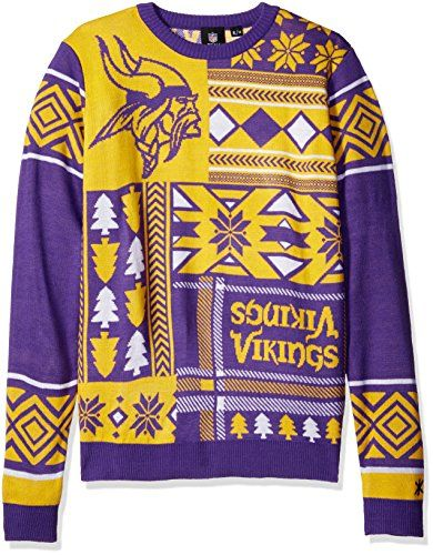 official photos 8418a 975c6 Minnesota Vikings Sweater | Cool Minnesota Vikings Fan Gear ...
