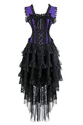 kimring women's vintage showgirl victorian steampunk