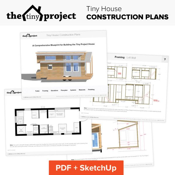 The Tiny Project Modern Tiny House Plans House Construction Plan Tiny House Plans House Floor Plans