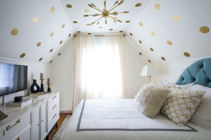 Habitaciones modernas dormitorio peque o en blanco y - Diseno de interiores dormitorios pequenos ...
