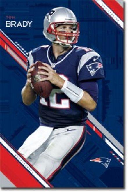 61052bd9f New England Patriots Tom Brady Poster Print (24 X 36) - Item # SCO5944