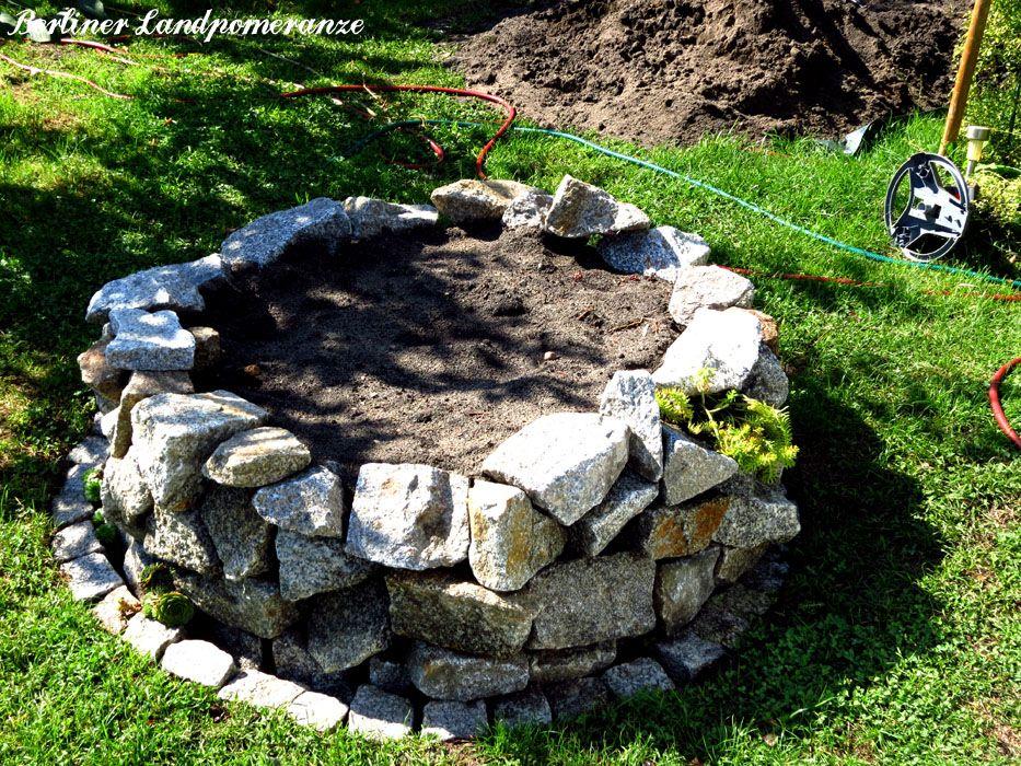 hochbeet trockenmauer granitbruch bauen anleitung. Black Bedroom Furniture Sets. Home Design Ideas