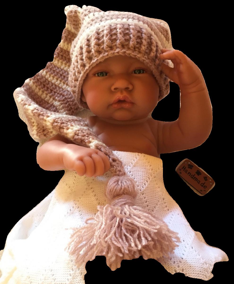 Ensemble bonnet lutin et chaussons pour bébé de 0 à 3 mois   epro ... e285ca49fb8