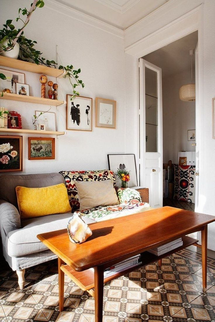 Vintage Living Room Ideas For Small Spaces: Neat And Cozy Living Room Ideas For Small Apartment 32