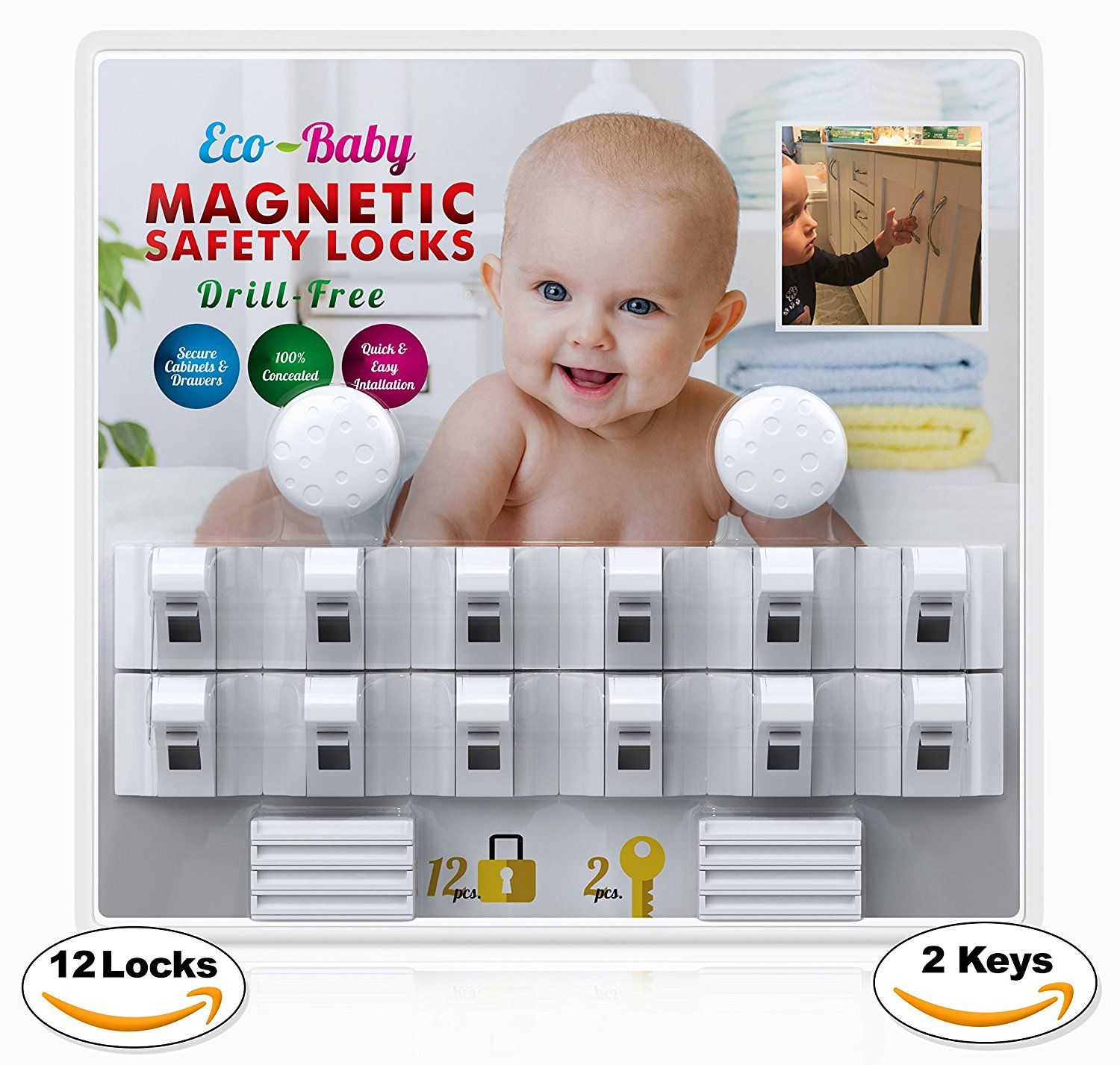 Baby & Child Proof & Drawers Safety Locks