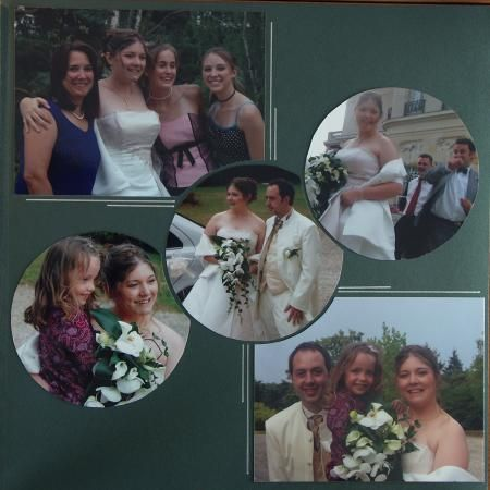 exemple page scrapbooking mariage