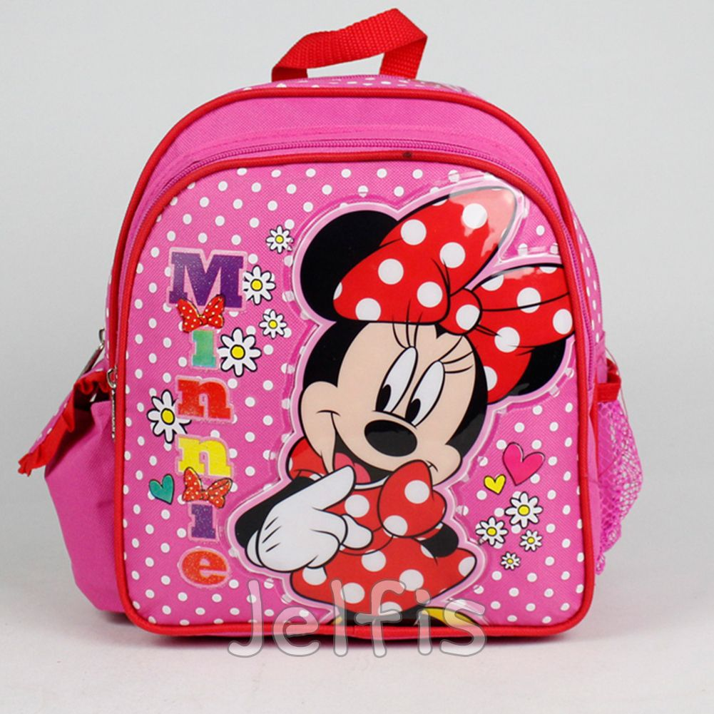 Disney Minnie Mouse 10 Backpack Daisy Bows Mini S Pink Toddler Book Bag