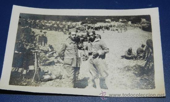 desembarco FOTOGRAFIA DE LEGIONARIOS, GUERRA DEL RIF, 1925 CAMPAÑA DE MARRUECOS, PROTECTORADO ESPAÑOL, - Foto 1