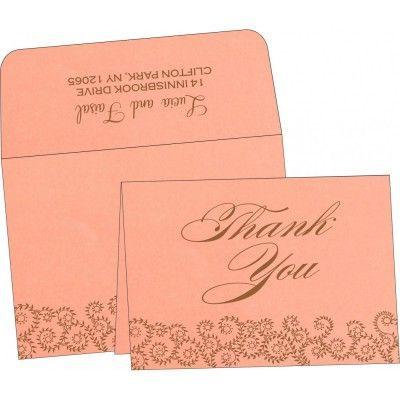 Wedding Thank You Cards - 123WeddingCards