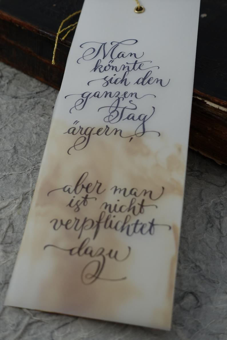 original Lesezeichen: ärgern?
